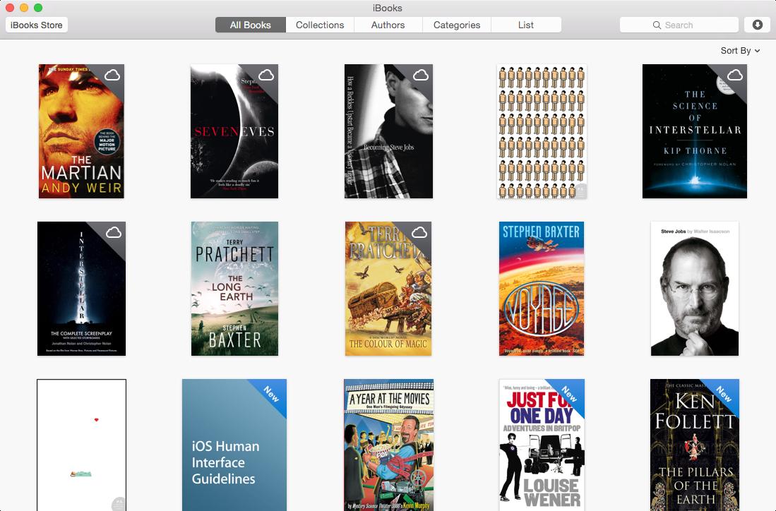 OS X iBooks