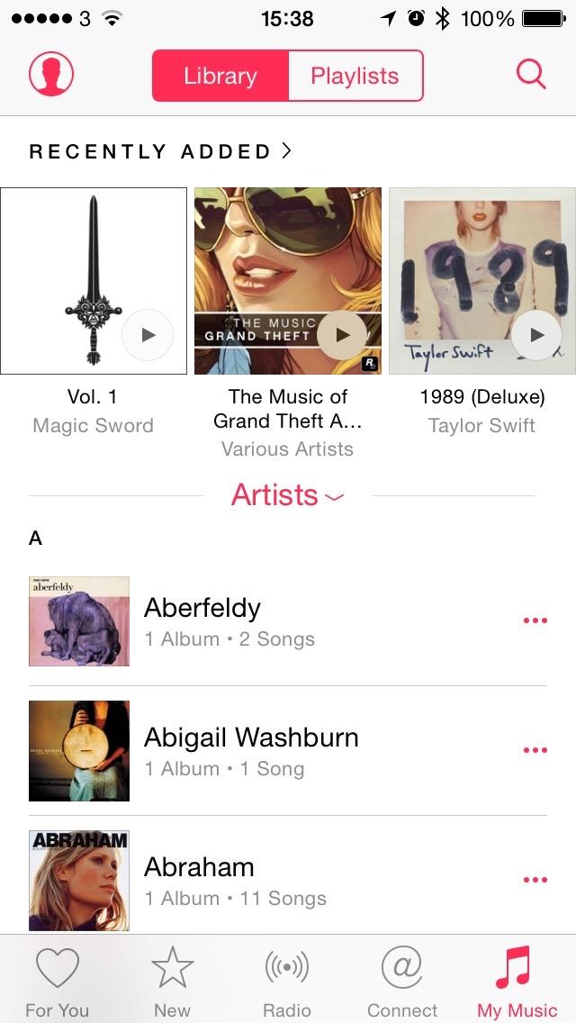 iOS Music
