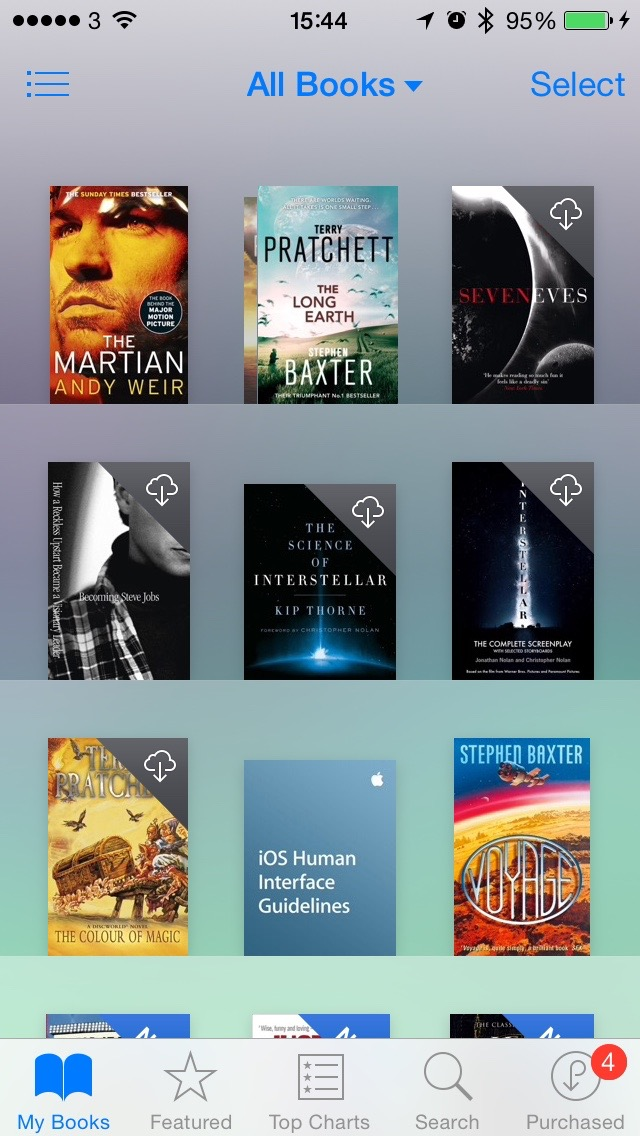 iOS iBooks